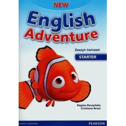 New English Adventure PL Starter AB +Song CD ćwiczenia