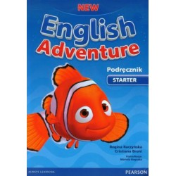New English Adventure PL Starter PB +DVD PODRĘCZNIK